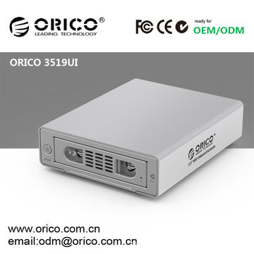 ORICO aluminum 3.5'' usb2.0 sata hdd hard disk drive enclosure with 1394a/1394b firewire interface,for iPhones