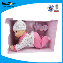 LOVELY CRAWLING 13.7INCH DOLL BABY TOY 2015