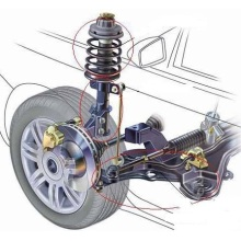 Front Right OEM Adjustable Shock Absorbers