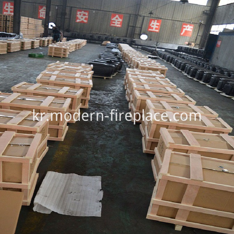 Packaging of Free Standing Wood Stoves