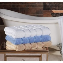 5 Star Hotel Dobby Border  Towels 100% cotton