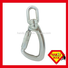 A304KTL-3 Aluminum Swivel Load Snap Triple Lock Hook
