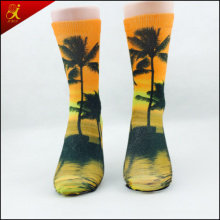 White Polyester Socks for Sublimation for Printing