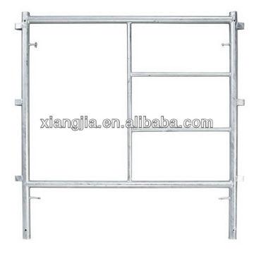 Sistema de andamio de cuadro paso dos marco principal dos abrazadera cruzada cuatro pin de unión