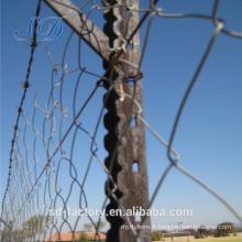 Poteau de clôture en acier Isreal Y pour le marché du Moyen-Orient