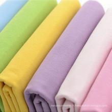 Tissu en coton à base de crêpes massif 100% coton Tissu 207GSM