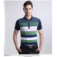 Оптовая мода вышивки Мужчины поло рубашки поло рубашки