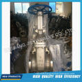 Industrial Flanged Stainless Steel Rising Stem Gate Valve