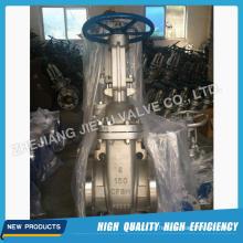 Válvula de compuerta de acero inoxidable flanada de agua