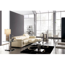 Living Room Genuine Leather Sofa (908)