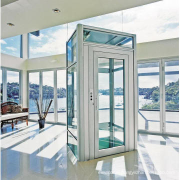 Aksen Home Elevator Villa Elevator Glass Cabin Mrl H-J010