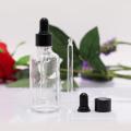 Botella transparente con cuentagotas de vidrio (NBG02)