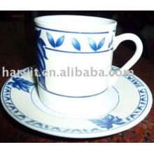 12PC set de café decorativo de cerámica