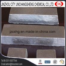 Aleación de aluminio que hace el lingote de magnesio