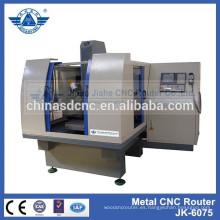 JK-6075 3d moldes cnc grabador /cnc precio de la máquina de fresado