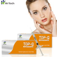 2ml 100% Pure Hyaluronic Acid Fine Line Injectable Hyaluronic Acid Dermal Filler Gel For Shallow Wrinkles Injection