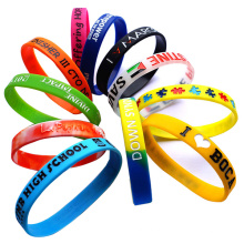 Bulk Wrist Band with Printed/Debossed/Embossed Logo (XD-030210)