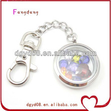 Fashion Stainless Steel Custom Keychain Lockets