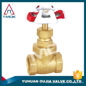 stem gate valve brass material heavy/light type prolong BSP/NPT thread toyo gate valve