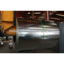 Bobina de acero galvanizado para materiales de construcción