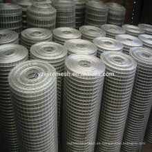 Materiales de esgrima de malla de alambre soldados de acero inoxidable