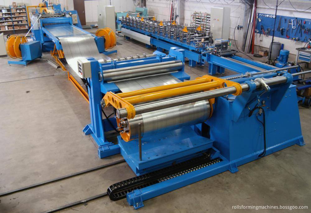coil slitting line