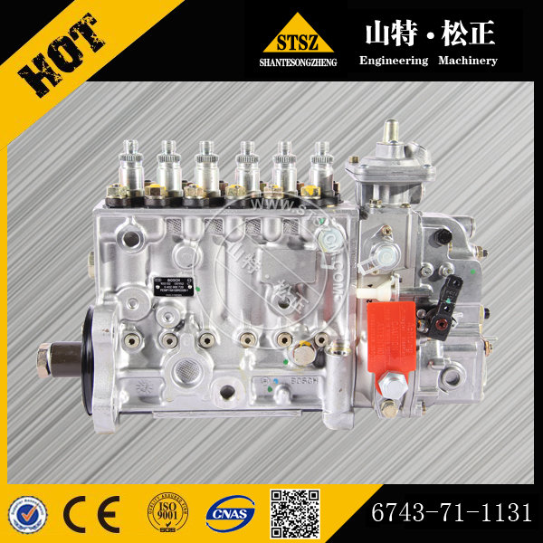 Pc300 7 Injection Pump Ass Y 6743 71 1131