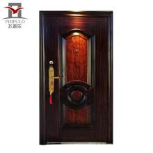 Puerta de acero de seguridad de tamaño estándar PHIPULO