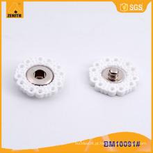 Flower Snap Button Tipos Acessórios de vestuário BM10091