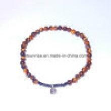 Semi Precious Stone Fashion Crystal Beaded Bracelet Gemstone Jewelry