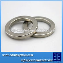 Radial Oriented Sintered Neodymium Rare Earth NdFeB Ring Magnet Permanent N52 N35