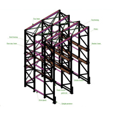 Drive in Racking for Industrial Warehouse Storage Pallet Racking