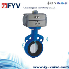 Pneumatic Butterfly Valve-Wafer Type