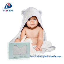 Best price 100% organic 500gsm baby hooded towel bamboo