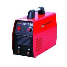 Popwel MMA IGBT 160 Máquina de solda DC Inverter Máquina de solda a arco Red Printed