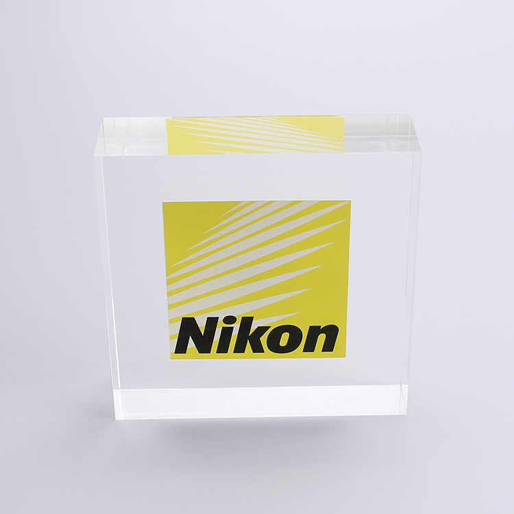 A 2p0090 Personalized Customized Acrylic Block With Words