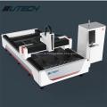Máquina de corte a laser de tubo de metal e fibra de placa