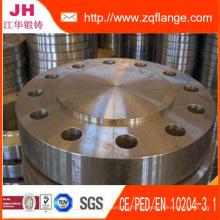 DIN2527 Standard Blind Flange, Carbon Steel Blrf Flange