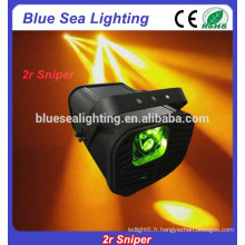 Éclairage effet effet 2r sniper dj scanner lumière sniper dj Sniper