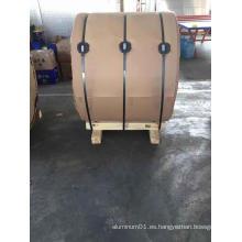Bobina de aluminio para material de aislamiento de tuberías