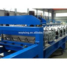 YD-000407 Passed CE&ISO Floor Deck Roll Forming Machine/Metal Steel Floor Decking Machine Hydralic Press Machine Price