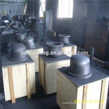 crisol de grafito para fundir metales no ferrosos y aleaciones