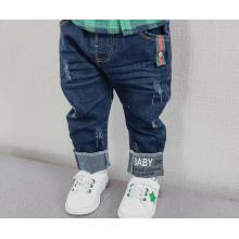 2018 постирала новый дизайн Детская мода джинсы хорошее качество дети мальчики джинсы