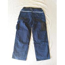 Man's Long Blue Baggy Working Pants
