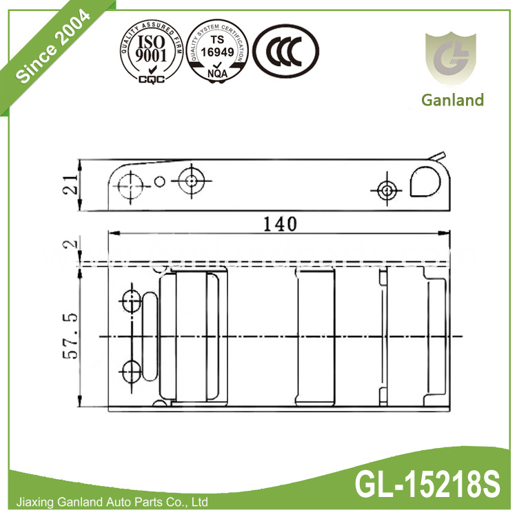 Curtainsider Buckle GL-15218