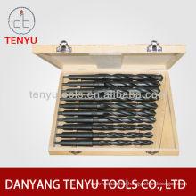 10PCS morse taper shank drill bit DIN345 drill