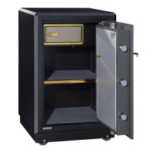 Novo design em dinheiro cofre caixa de banco cofre caixa de impressão digital cofre