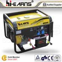Generador del uso casero de la gasolina 5kw (GG6000E)