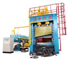 Cisaille à portique hydraulique de plaques d'acier de cuivre en aluminium