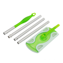 Household floor cleaning non-woven disposable flat mop